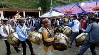 Devta Dance at Katal Mela, Karsog