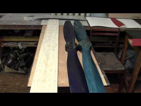 Изготовления воздушного винта в домашних условиях