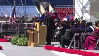 Cory Booker 2017 Commencement Speech