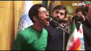 سخنرانی دانشجوی معترض به حضور حسین شریعتمداری در دانشگاه تهران