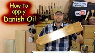 How to apply Danish Oil