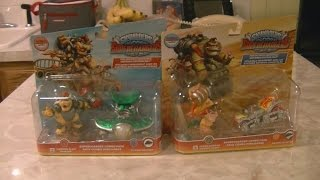 Hammer Slam Bowser and Turbo Charged Donkey Kong Skylanders/Amiibo Unboxing