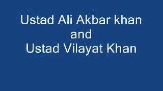 Ustad Ali Akbar Khan and Ustad Vilayat Khan - Raga Bhairabi, Tabla - Pt  Shanta Prasad