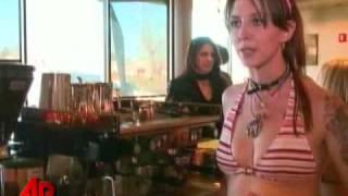 Bikini Clad Baristas at Colorado Coffee Shop