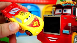 Best Toy Car Learning Video for Kids Disney Cars Color Changing Lightning McQueen & Monster Trucks