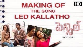 LED Kallatho Song Making   Pencil Movie   GV Prakash   Sri Divya   Thaman