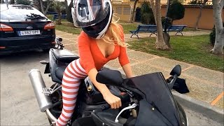 Motorcycle Crash Fail win 2017 road accident  #30
