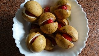 How to remove Mace from Nutmeg (Myristica) easily...