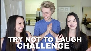 TRY NOT TO LAUGH CHALLENGE ft. Harrison Webb