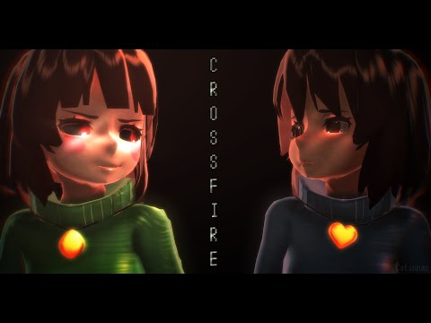 Xxx Mp4 MMD Undertale Crossfire Ft Frisk Chara 3gp Sex