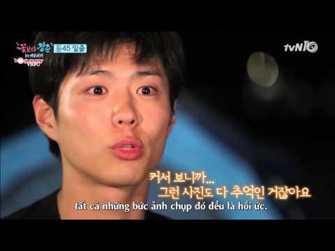 [Vietsub] Youth Over Flowers Ep2 cut 1: Park Bo Gum và Ryu Jun Yeol tâm sự chuyện gia đình