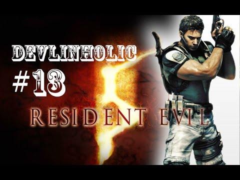 Resident Evil 5 S-Rank Walkthrough #13 Licker Beta & U-8 Boss Chapter 5-1