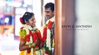 kavya+Santhosh - Tamil Brahmin Wedding Teaser 2016 By Rangoli Studio