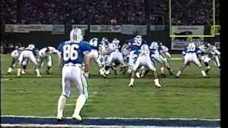 Holiday Bowl 1990 - Texas A&M vs BYU