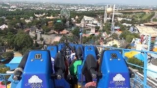 Gravity Max Tilt Roller Coaster Back Seat POV Lihpao Land Taiwan