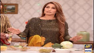 Reema Khan shares her diet plan in Good Morning Pakistan