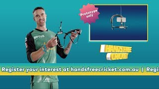 Introducing the Hands Free Cricket device from Kevin Pietersen | Optus