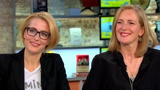 Gillian Anderson and Jennifer Nadel on new book empowering women