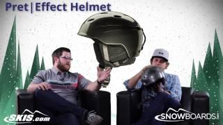 2015 Pret Effect Helmet Overview by SkisDOTcom and SnowboardsDOTcom