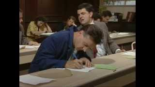 Mr Bean at school