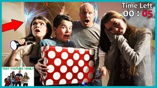 Mysterious Hacker Package The Final Escape! / That YouTub3 Family I Family Channel