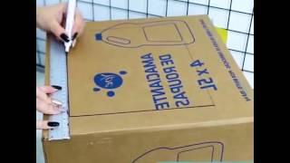 Cum poți face din carton un aragaz un frigider și o chiuvetă