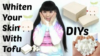 DIYs: Whiten You Face with Tofu + Tighten Face Tool Review( Vanity Planet Ice Roller)