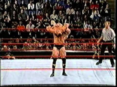 Brock Lesnar vs Crash Holly (Dark Match)