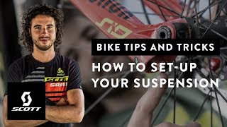 How to Set-Up Your Suspension with Yanick the Mechanic