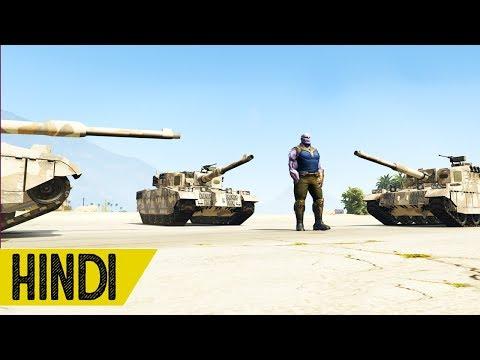 Xxx Mp4 Thanos Vs Military Base In GTA 5 Hindustani Gamer 3gp Sex