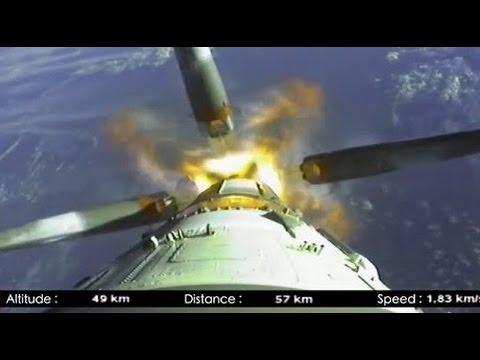 Soyuz Launch Onboard Camera