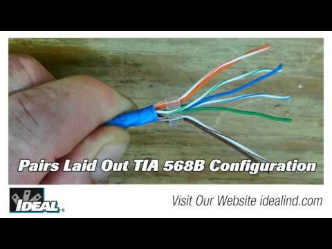 Cat 6 Plug How To Terminate Short Video