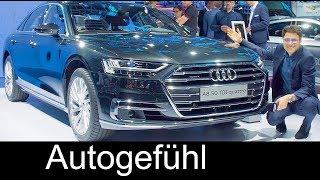 2018 Audi A8 vs A8L REVIEW Exterior/Interior Feature @ IAA 2017 - Autogefühl