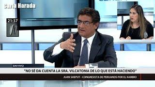 """Juan Sheput: """"¿Yeni Vilcatoma primero habla y luego piensa?"""""""