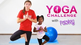 The Yoga Challenge with Paisley! | Kamri Noel