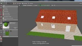 Dialux Evo Tutorial  Part 4 - How to add skylight, texture and ground elements