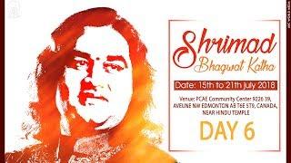 Shrimad Bhagwat Katha || Day -6 || Edmonton, Canada || Shri Devkinandan Thakur Ji Maharaj