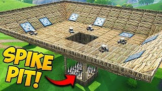 *NEW* EPIC SPIKE PIT Custom Gamemode! - Fortnite Funny Fails and WTF Moments! #271