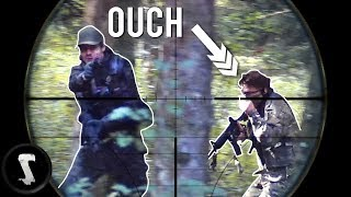 What 1152+ Hours of Airsoft Sniper Playtime Looks Like... (ouch)