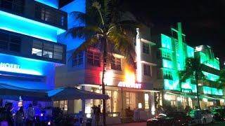 Hittin' The Miami Strip - Ocean Drive, Art Deco, Belly Dancers & American Classic Cars