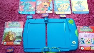 LEAPFROG MY FIRST LEAPPAD LEARNING SYSTEM PINK WITH CARRY BAG 6 BOOKS & 4 GAMES