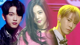 《Special Stage》 JISOO X DOYOUNG X JINYOUNG - MC special @인기가요 Inkigayo 20170205