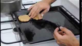 آموزش درست کردن کتلت بدون روغن - How To Cook Cutlet Without Oil And Frying