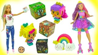 Video Game Hero Barbie Dolls + MineCraft Surprise  Mystery Blind Bag Boxes