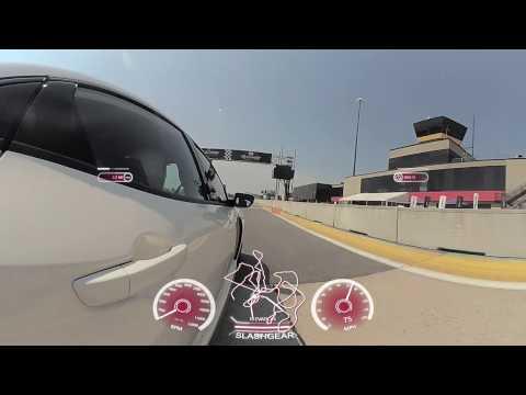 Honda Civic Type R track time! [VR 360]