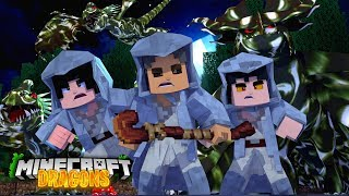 New EVIL NATION started the ZOMBIE DISEASE - Minecraft Dragons
