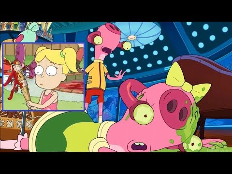 Rick and Morty Dead children jokes