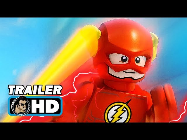 LEGO DC SUPER HEROES: THE FLASH (2018) Official Trailer - DC Animated Movie HD
