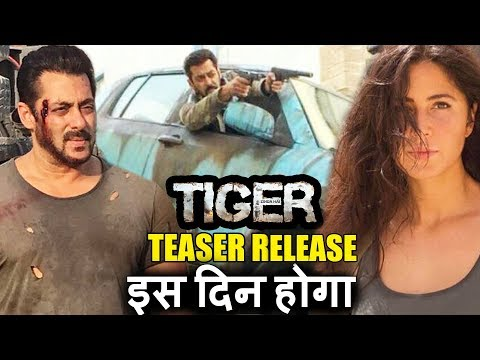 Salman's Tiger Zinda Hai Teaser Releases - Date Out