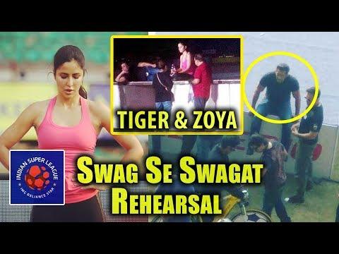Xxx Mp4 Tiger Zoya Swag Se Swagat Song Rehearsal Salman Khan Katrina Kaif At ISL Cochin Mega Performance 3gp Sex